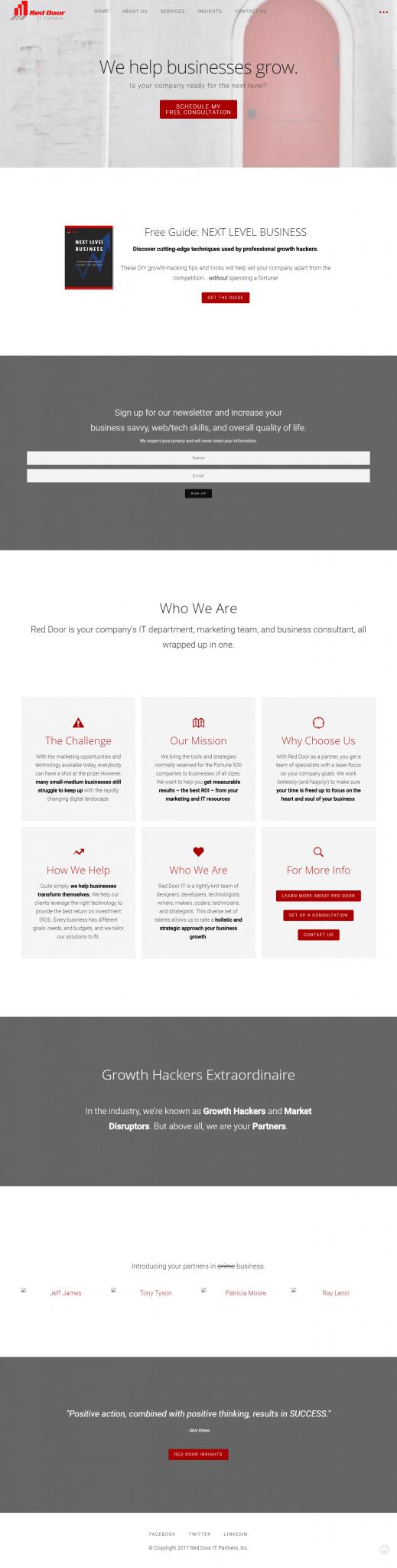ReddoorIT_Homepage